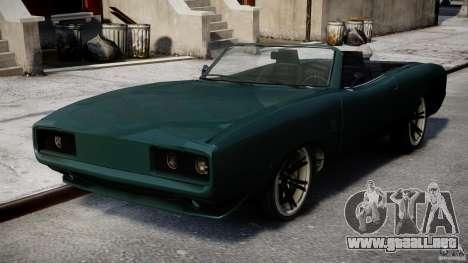 New Dukes para GTA 4 visión correcta