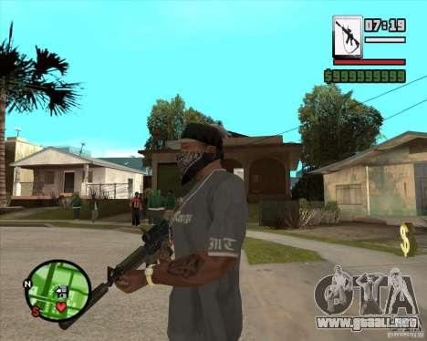 HQ M4A1 - DMG MK11 para GTA San Andreas segunda pantalla