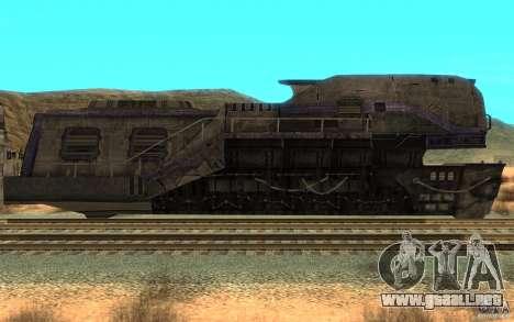 Un tren desde el juego Aliens vs Predator v1 para GTA San Andreas left