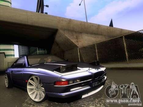 BMW 850 CSI para visión interna GTA San Andreas
