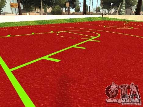 Cancha de baloncesto para GTA San Andreas segunda pantalla