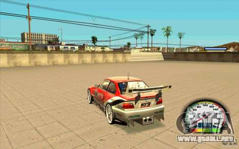 New Speedometer no transmissions para GTA San Andreas