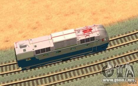 Lokomotiv ChS7-082 para visión interna GTA San Andreas