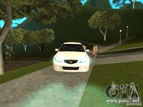 Honda Accord Type S 2003 para la visión correcta GTA San Andreas