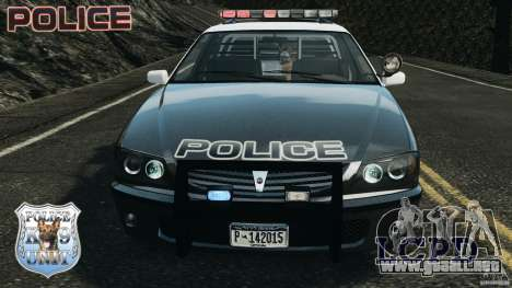 LCPD K9 Unit para GTA 4 vista lateral