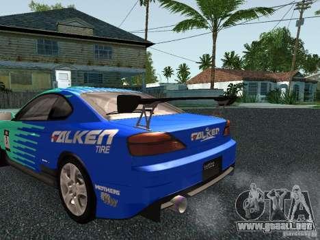 Nissan Silvia S15 Tunable para las ruedas de GTA San Andreas