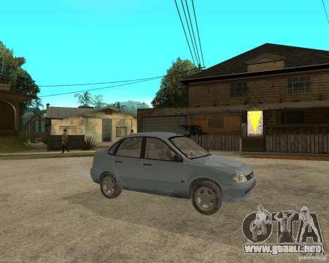 Kalina 1118 VAZ para la visión correcta GTA San Andreas