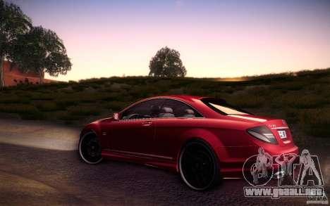 Mercedes Benz CL65 AMG para GTA San Andreas left