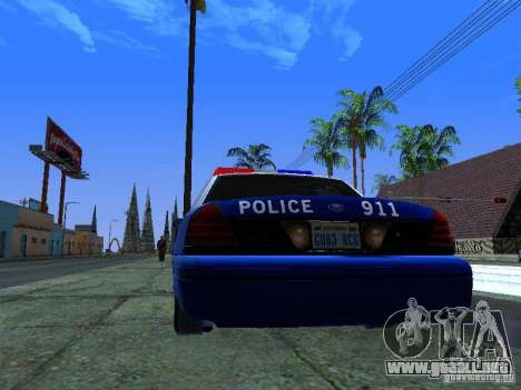 Ford Crown Victoria Belling State Washington para la visión correcta GTA San Andreas