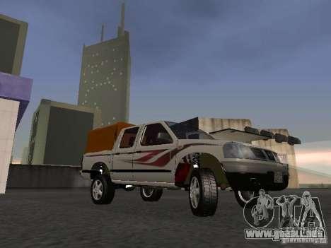 Nissan Pickup para GTA San Andreas left