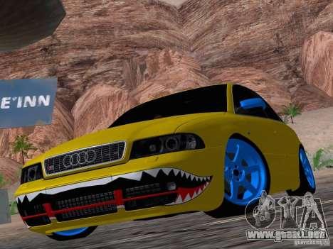 Audi S4 DatShark 2000 para vista lateral GTA San Andreas