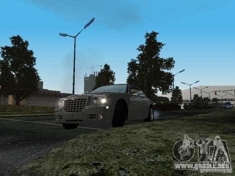 Chrysler 300C HEMI 5.7 2009 para GTA San Andreas vista hacia atrás