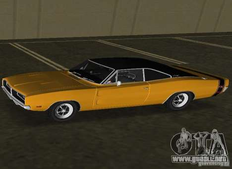 Dodge Charger RT 1969 para GTA Vice City left