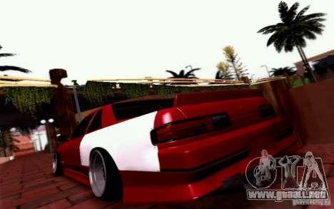 Nissan S13 Onevia para GTA San Andreas left