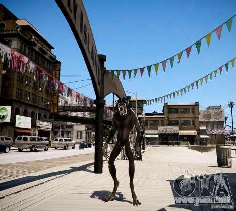 Werewolf from Skyrim para GTA 4 segundos de pantalla