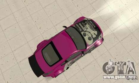 Nissan 350Z Tuning para la visión correcta GTA San Andreas