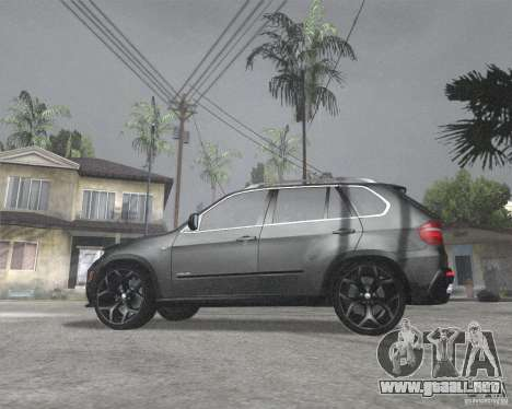 BMW X5 2009 Tune para GTA San Andreas left
