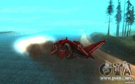 MOSKIT air Command and Conquer 3 para visión interna GTA San Andreas