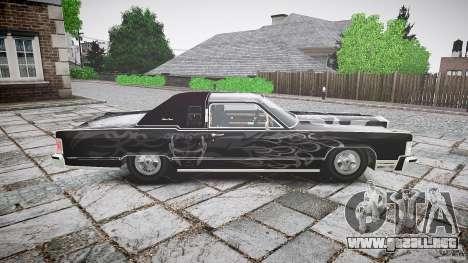 Lincoln Continental Town Coupe v1.0 1979 para GTA 4 vista lateral