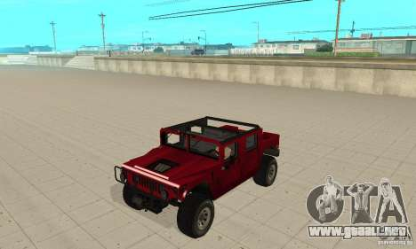 Hummer Civilian Vehicle 1986 para GTA San Andreas