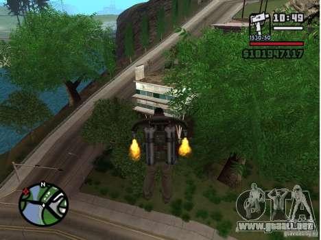 Project Oblivion 2007 para GTA San Andreas segunda pantalla