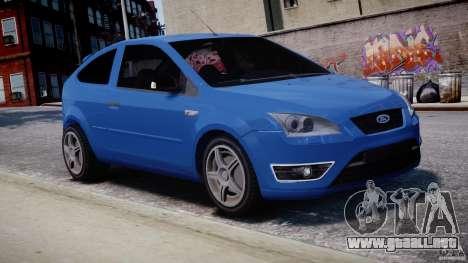 Ford Focus ST para GTA 4 vista lateral
