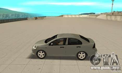 Chevrolet Aveo para GTA San Andreas left