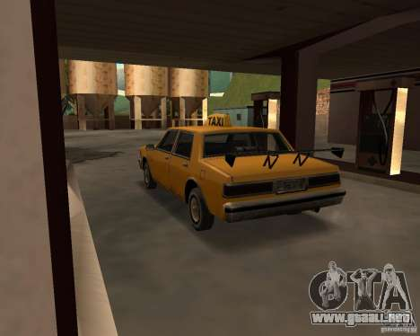 LV Taxi para la visión correcta GTA San Andreas