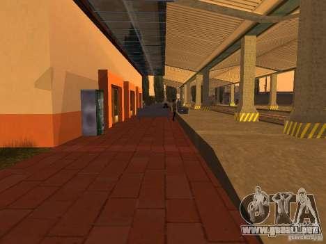 Unity Station para GTA San Andreas séptima pantalla