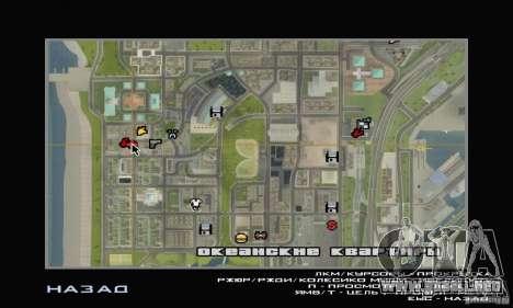 Servicio de parte de cinco estrellas y repuestos para GTA San Andreas tercera pantalla
