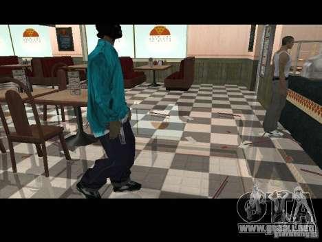 Varrio Los Aztecas para GTA San Andreas sucesivamente de pantalla