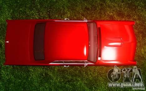 Pontiac GTO 1965 FINAL para GTA 4 vista desde abajo