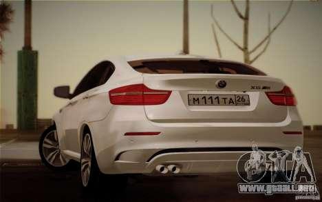 BMW X6M E71 para GTA San Andreas left