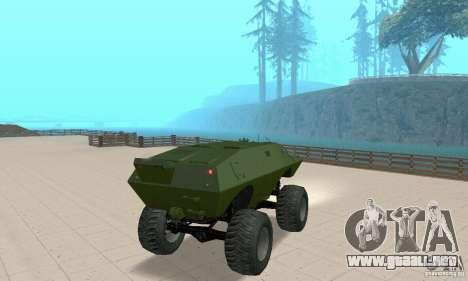 Trail Monster V.1.0 para GTA San Andreas left