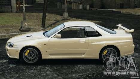 Nissan Skyline GT-R R34 2002 v1.0 para GTA 4 left