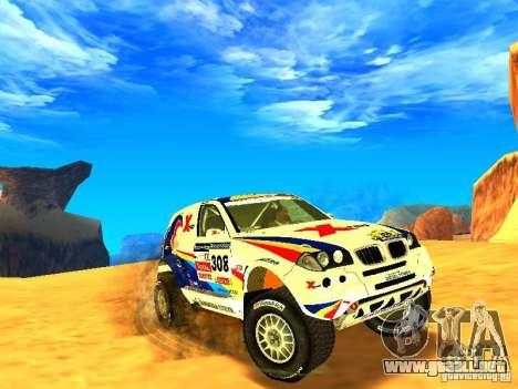BMW X3 King Dessert para GTA San Andreas