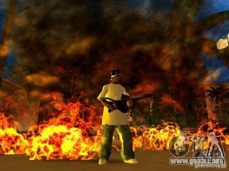 New Weapon Pack para GTA San Andreas séptima pantalla