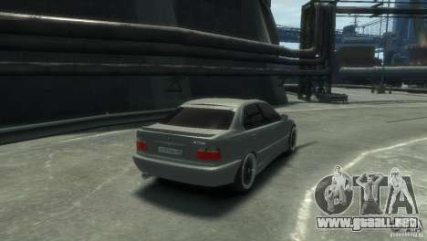 BMW 318i Light Tuning para GTA 4 visión correcta