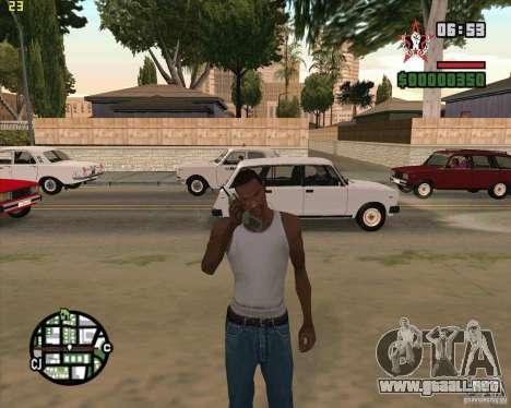 Cargobob llamada para GTA San Andreas segunda pantalla