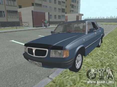 GAZ 3110 Volga v1.0 para GTA San Andreas