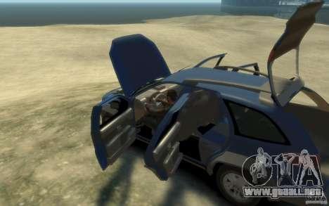 Fiat Palio Adventure Locker para GTA 4 Vista posterior izquierda