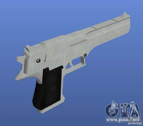 Mega Gun Pack (Chrom) para GTA 4 tercera pantalla