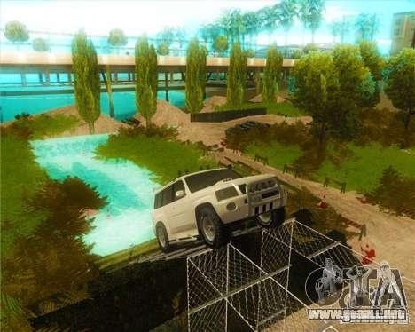 Off-Road Track para GTA San Andreas segunda pantalla
