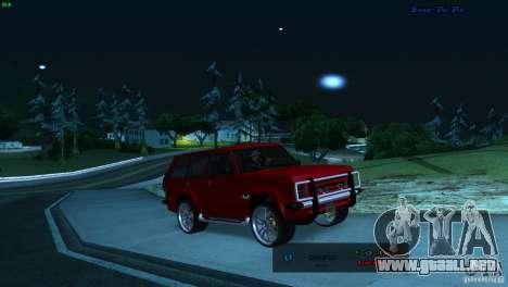 FBI Huntley 4x4 para GTA San Andreas