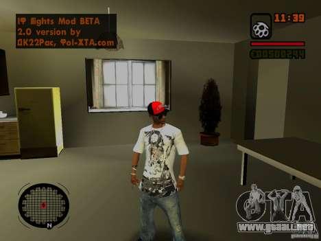GTA IV Animation in San Andreas para GTA San Andreas sucesivamente de pantalla