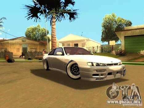 Nissan 200SX JDM para GTA San Andreas left