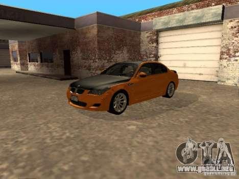 BMW M5 E60 2009 v2 para la visión correcta GTA San Andreas