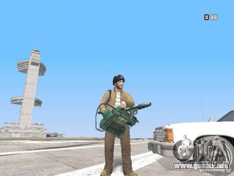 HQ Weapons pack V2.0 para GTA San Andreas sexta pantalla