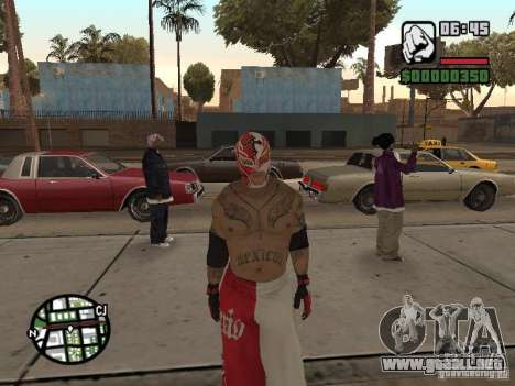 Rey Mysterio para GTA San Andreas segunda pantalla
