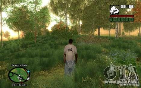 Project Oblivion 2010 For Low PC V2 para GTA San Andreas sucesivamente de pantalla